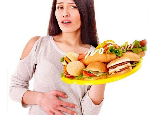 важка їжа