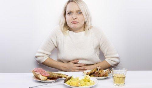 тяжкість в шлунку после їжі у жінок