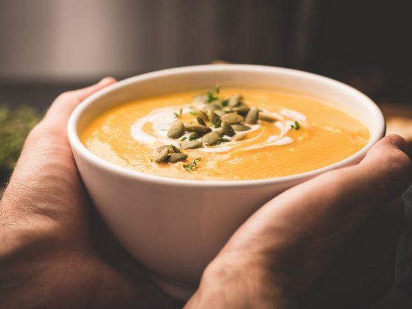 Гарбузовий суп дуже смачний