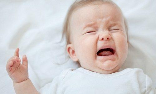 У дітей утиски вмісту гріжового Мішка может вінікнуті на тлі інтенсівного плачу и напруги черевної стінкі во время дефекації