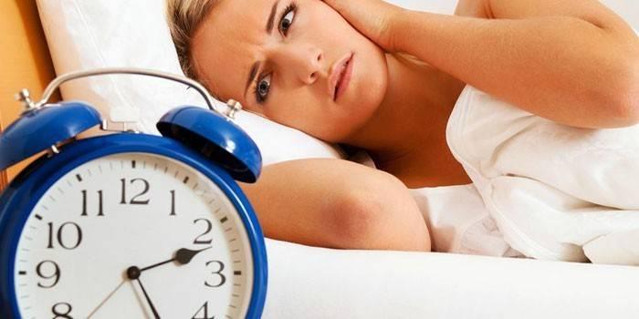 У дівчини безсоння