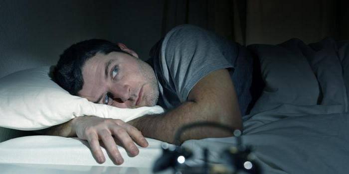 У чоловіка безсоння