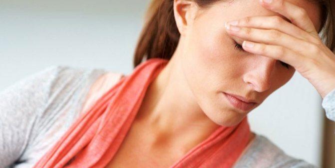 У жінки болить голова