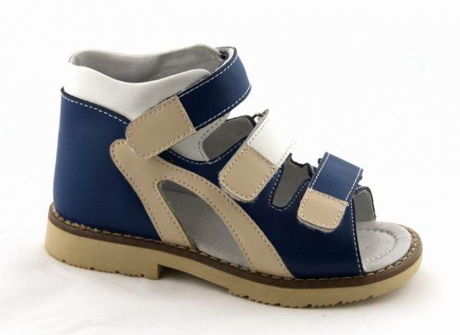 Зручна ортопедичне взуття для малюка