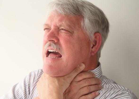 задушлівій кашель