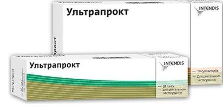 Ультрапрокт крем