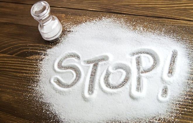 Зменшити кількість солі