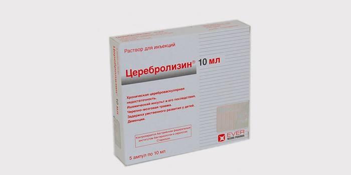Упаковка препарату Церебролізин