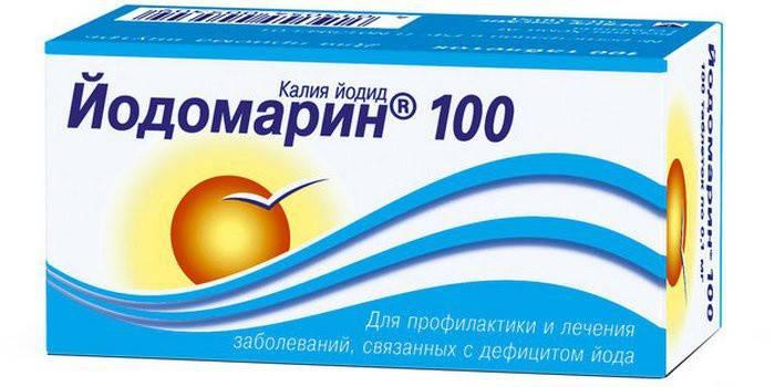 Упаковка препарату Йодомарин