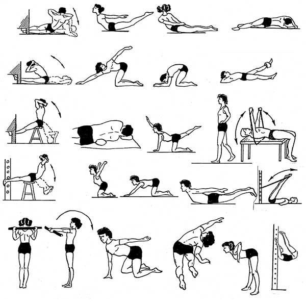 Вправи для м'язів