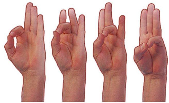 Вправи для пальців рук