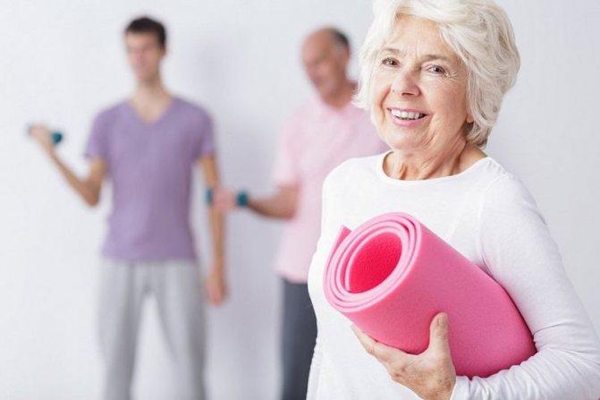 Вправи при церебральному атеросклерозі у літніх
