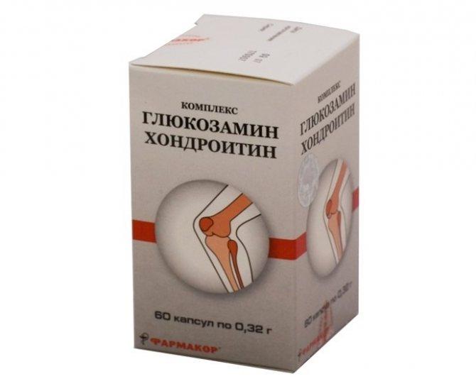 Умови призначення комплексу Глюкозамін Хондроітін