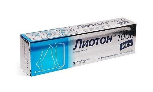 Усунути набряки і інші симптоми геморою допоможе мазь Лиотон
