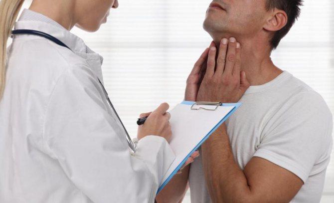Збільшився лімфовузол на шиї з правого боку: причини і лікування