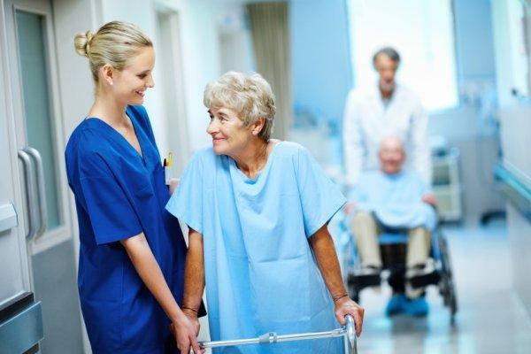 У лікарні на відновленні