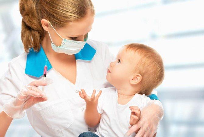 вакцинація як профілактика ГРВІ та грипу у дитини