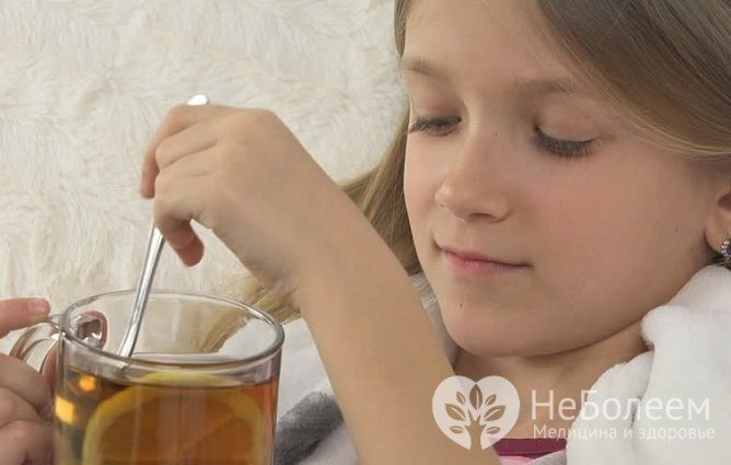 Важлівім елементом лікування бронхіту є Рясне питна режим