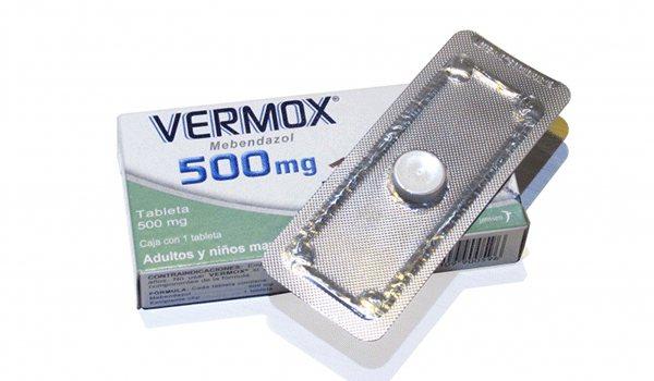 Вермокс 500 - інструкція для медичного застосування