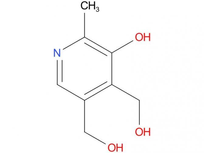 Вітамін в12 пірідоксін