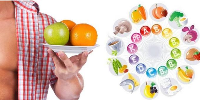 Вітаміни для чоловічого організму
