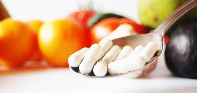 вітаміни у виде таблеток