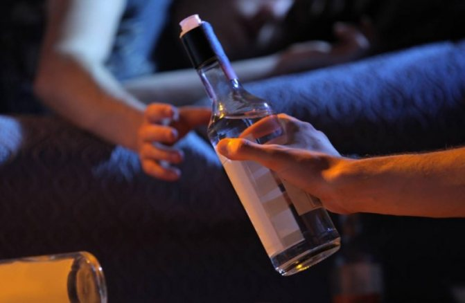 Потяг до алкоголю