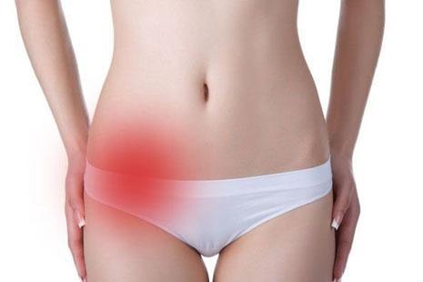 Запаленою прідатків - Біль збоку