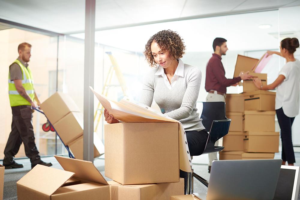 Планування офісного переїзду великої компанії