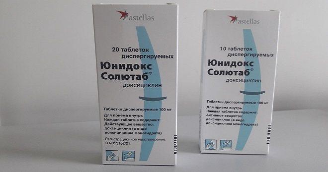 Юнідокс Солютаб - для чого призначають, і як правильно приймати антибіотик?