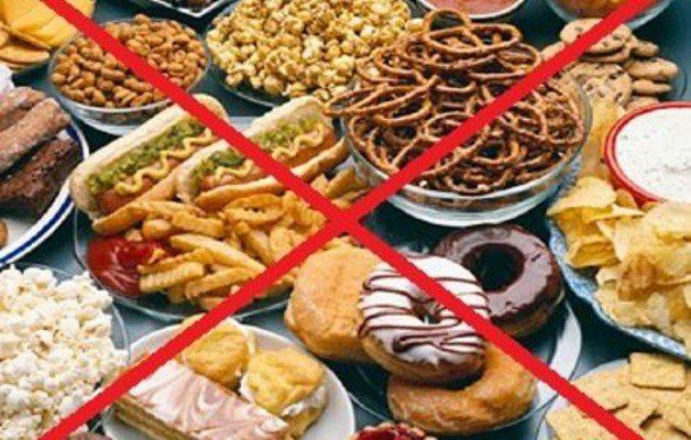 заборонені продукти