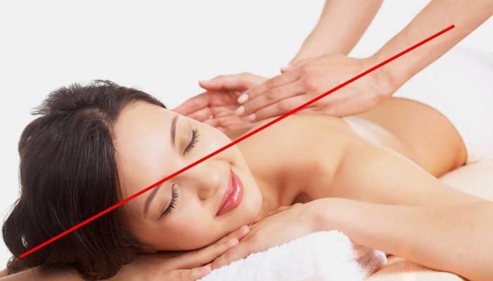Заборона на масаж при гемангіома