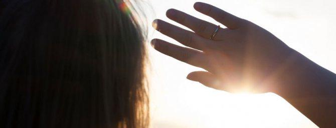 Захист очей від сонця с помощью контактних Лінз з УФ-фільтром