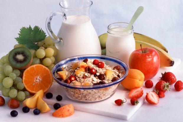 Сніданок безсолевой дієти