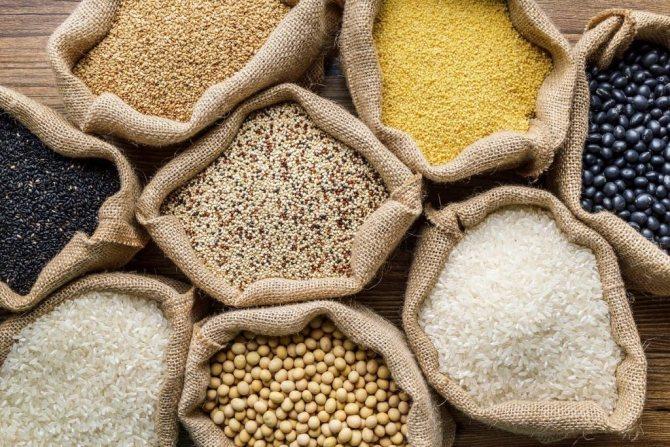 Зерна в раціоні