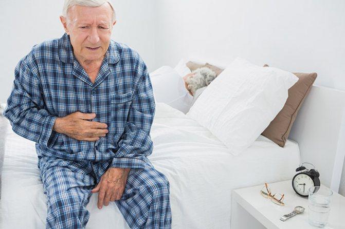 Шлунково-кишкові кровотечі в осіб похилого віку