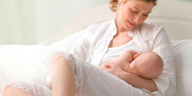 Жінка і немовля