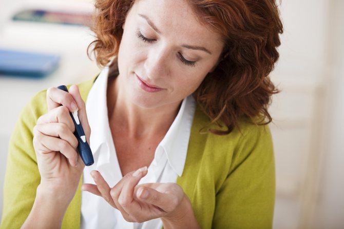 жіночий діабет