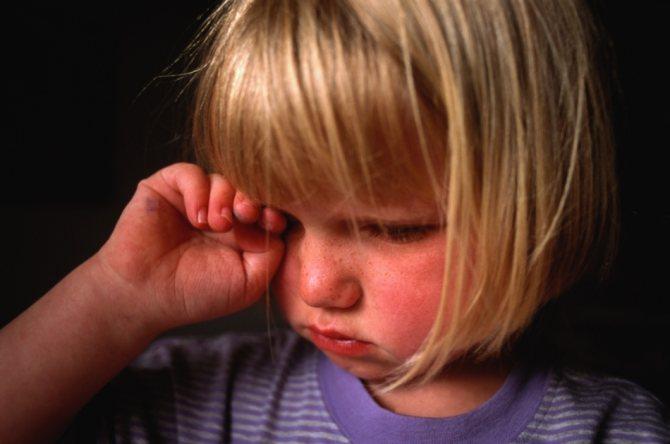 Свербіж очей - характерний симптом кон'юнктівіту